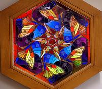Butterflies in hexagon