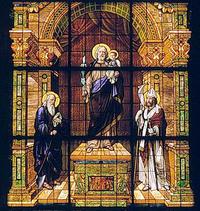 St. Joseph and the Christ Child close-up