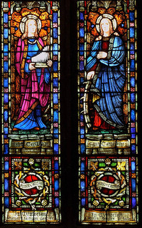 St. Cecilia and St. Catherine