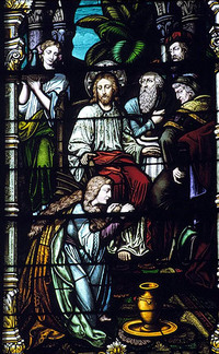 Mary Washes Jesus' Feet