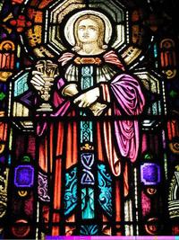 St. John close-up