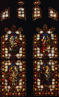 Window of Christ the Divine Child (Childhood of Jesus)