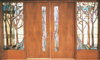 Entrance doors and sidelights