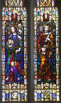 John the Baptist and St. Peter