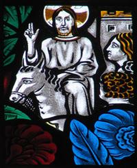 Jesus Enters Into Jerusalem