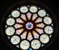East Rose Window