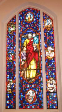 """Christ the Children, """"Let the Children Come unto me"""""""