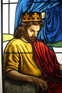 A pentinent King David