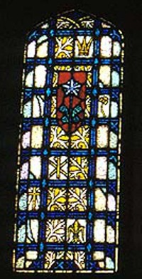 Side Panel of Nativity window