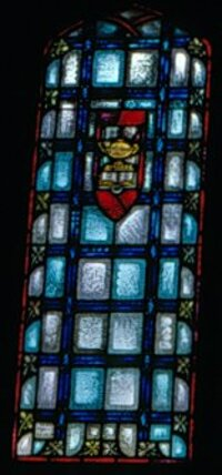 Side window to Christ in the Temple