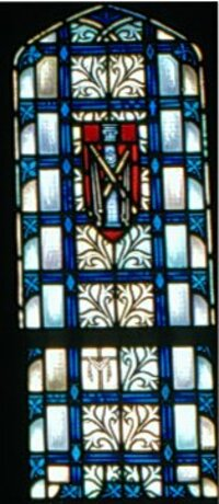Side Panel of Crucifixion window