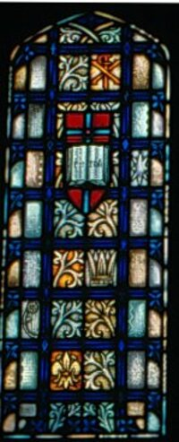Side Panel of Resurrection window