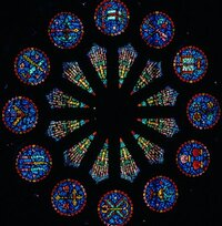 Rose Window-apostles