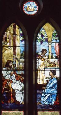 The Mary and Martha Window