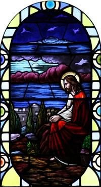 Jesus weeps over Jersalem