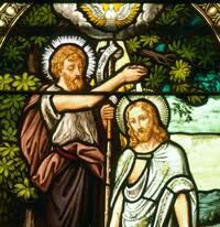Baptism of Christ Detail