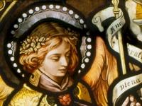 Annunciation Angel Detail