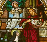 Jesus and Nun Detail