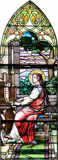 St. Cecile Organist