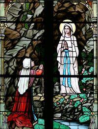 Lady of Lourdes and Bernadette