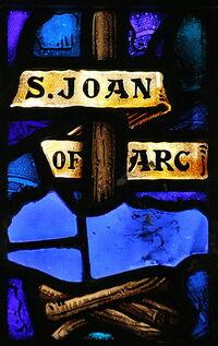 St. Joan of Arc Symbol