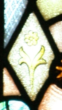 Christ the Alpha and Omega Flower Detail