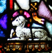 St. John the Baptist Lamb Detail