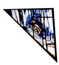 Triangle Ornamental Window Right