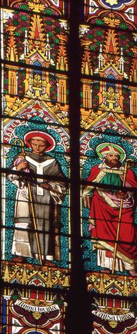 St. Bernard and St. Augustine