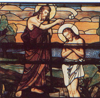 The Baptism of Christ by John the Baptist