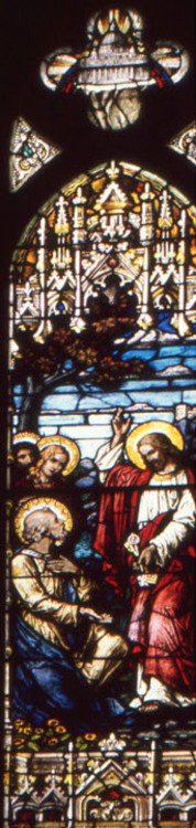 St. Peter and Jesus