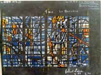Sacrament of Holy Baptism Loire Studio sketch