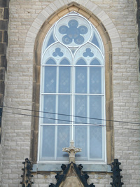 Ornamental window, exterior