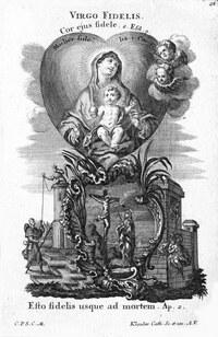 Loreto Virgin Most Faithful Illumination by Klauber Studio