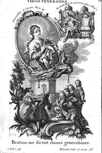 Loreto Virgin Most Venerable Illumination by Klauber Studio