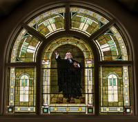 John Wesley Window restored