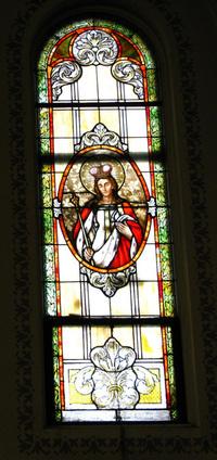 St. Hedwig of Silesia Window photo by Dave Daniszewski