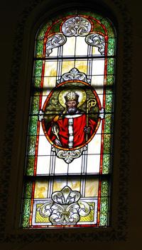 St. Adalbert Window photograph by Dave Daniszewski