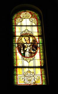 St. Stanislaus Window photo by Dave Daniszewski
