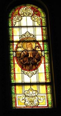 St. Benedict Window photo by Dave Daniszewski