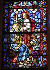Peter Denies Christ close-up
