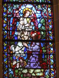 Prayer in the Garden of Gethsemane close-up
