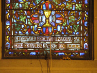 Prayer in the Garden of Gethsemane inscription