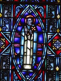 Saint Martin Deporres close-up