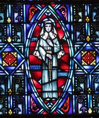 St. Bernadette of Lourdes close-up