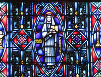 St. Francisca Cabrini close-up
