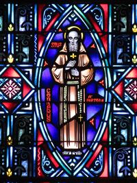 St. Conrad of Parzham close-up