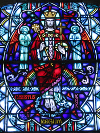 Christ the King of Kings close-up