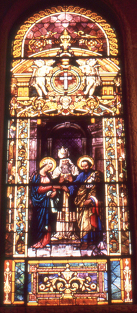 Espousals of Our Lady and Saint Joseph, photo by Wm. Gorski