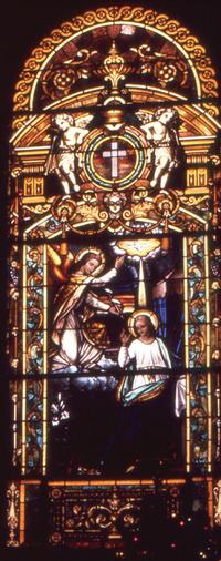 Annunciation, photo by Wm. Gorski